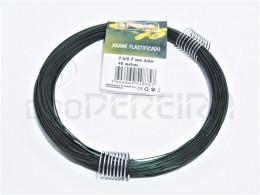 ARAME PLASTIFICADO 0.6/0.7mm ROLO 40m MANTOOLS