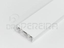 CALHA BRANCA TRIPLA 60x20mm (2m)