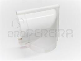 CURVAS P/ CALEIRA PVC BRANCA