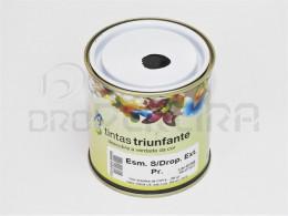 ESMALTE SUPER DROPOLINE EXTERIOR PRETO 1/4L