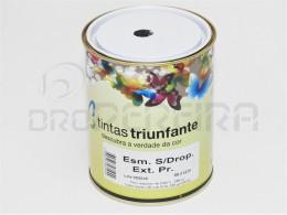 ESMALTE SUPER DROPOLINE EXTERIOR PRETO BRILHANTE 1L