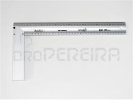 ESQUADRO ALUMINIO DLM-400mm MACFER