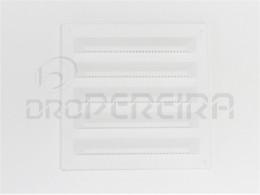 GRELHA VENTILAÇAO PLASTICO 20x20Cm BRANCO