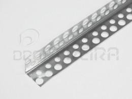 PERFIL EM (L) 25x25mm ANGULO PERFURADO (3m)