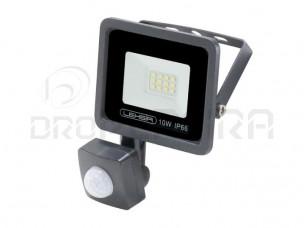 PROJECTOR LED SMD 10W  C/SENSOR 6000K LEDME LM6023