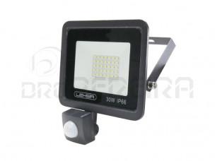 PROJECTOR LED SMD 30W  C/SENSOR 6000K LEDME LM6025