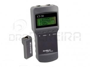 TESTADOR REDE C/ LCD - SC8108